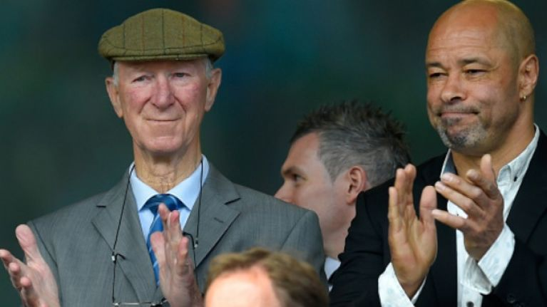 The legendary Jack Charlton to be the subject of new documentary