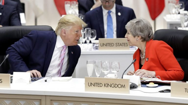 Trump claims that Theresa May 'made a mess' of Brexit