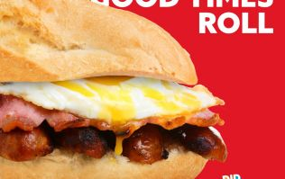 Just Eat are now delivering breakfast rolls