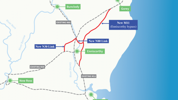 Taoiseach to open €400 million stretch of motorway in Wexford today