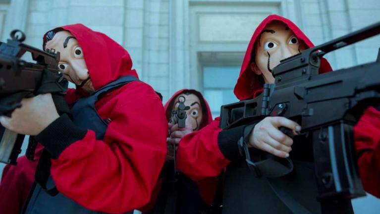 OFFICIAL: Season 3 of Money Heist is now on Netflix
