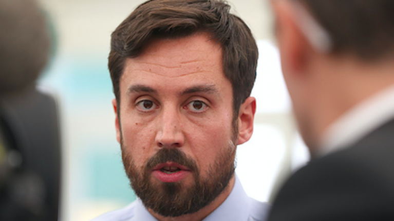 Eoghan Murphy suggests that co-living spaces are like 'trendy boutique hotels'