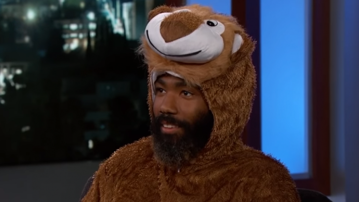 WATCH: Donald Glover discusses filming The Lion King, and singing with Beyoncé