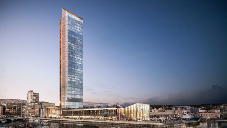 Ireland's tallest building planned for Cork as part of €150 million redevelopment