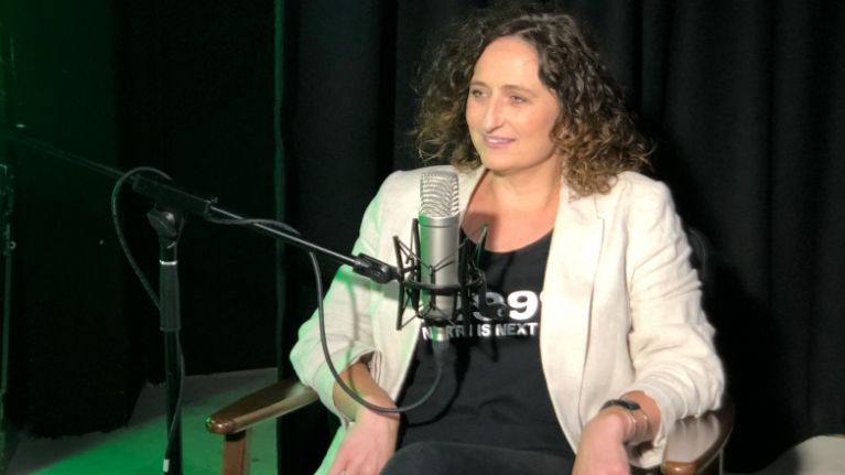 """I didn't see a problem"" - Lynn Boylan on the controversial banner Mary Lou McDonald held in New York"