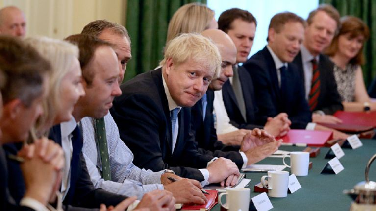 Here are the worst things that Boris Johnson's cabinet members have said about Ireland