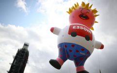 Boris Johnson blimp takes flight over London