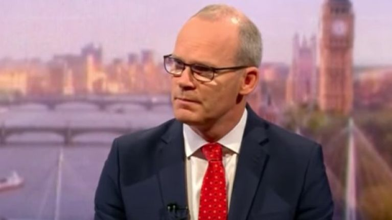 """""""A British choice"""" - Simon Coveney puts the ball in Boris Johnson's court on no-deal Brexit"""