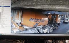 PICS: Delays between Pearse & Grand Canal Dock as truck stuck under a bridge