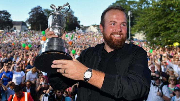 Shane Lowry given a hero's welcome in his hometown of Clara, Co. Offaly