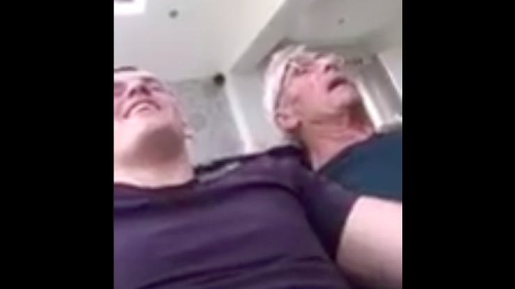 WATCH: Irish MMA fighter shares lovely video of him and his grandad singing 'Imagine' together
