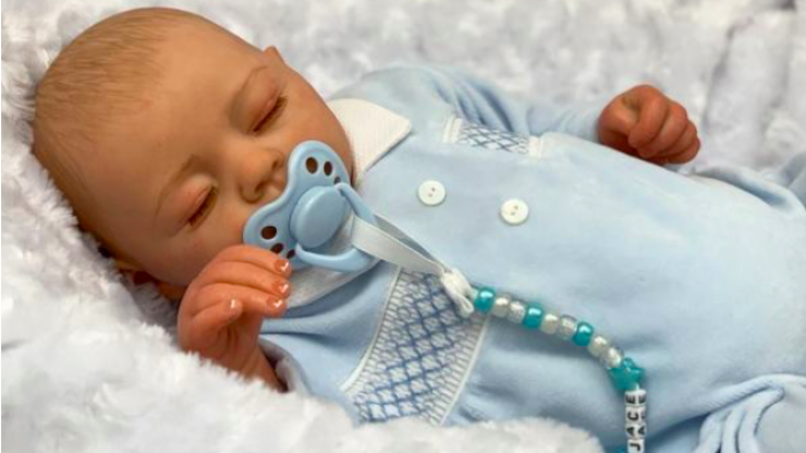A YouTuber family are selling a doll version of their baby son