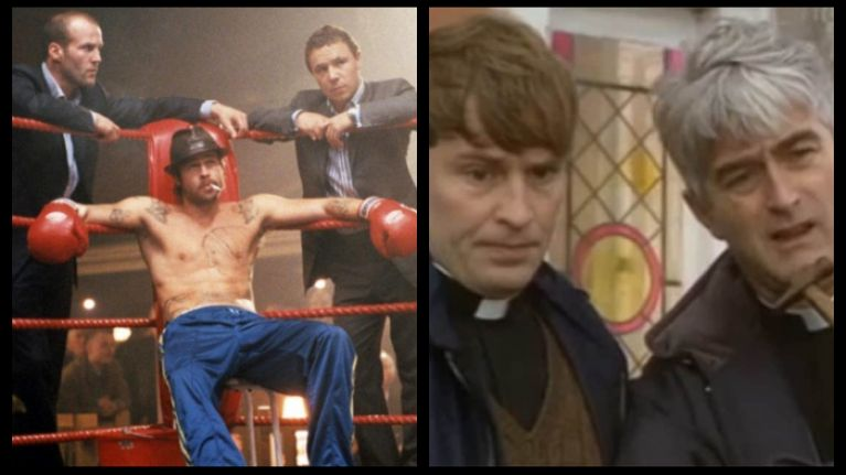 EXCLUSIVE: Brad Pitt reveals his Snatch performance was based on a Father Ted character