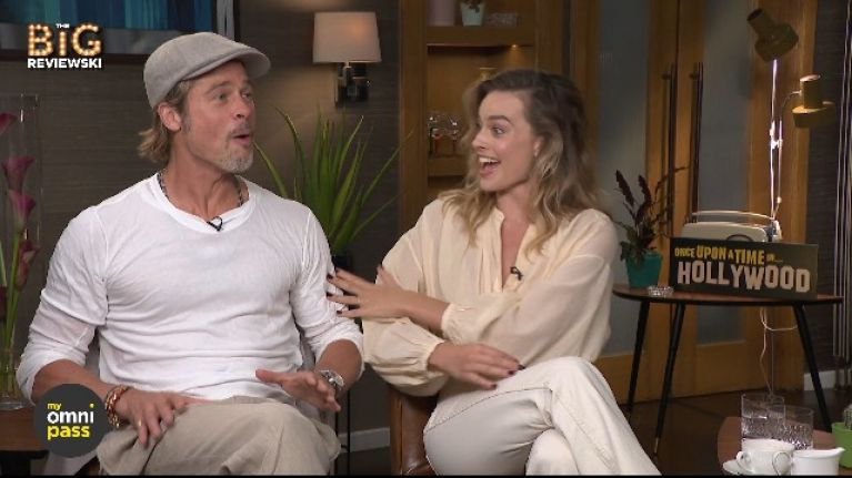 Brad Pitt and Margot Robbie completely forgot they were already in a movie together