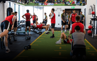 Everything you'll find in a Premier League team's gym