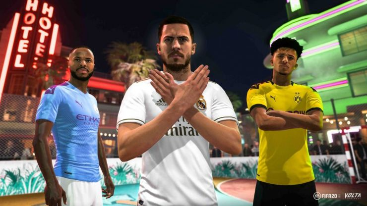 The top 20 player ratings for FIFA 20 have been revealed