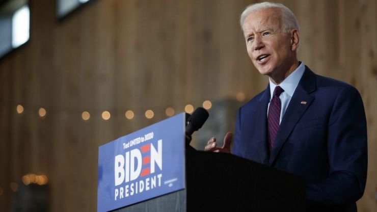 Joe Biden seizes frontrunner spot to take on Donald Trump following spate of wins on Super Tuesday