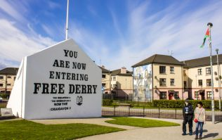 Free Derry Corner vandalised with Soldier F graffiti overnight