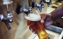 The average price of a pint of lager in Ireland is €4.94