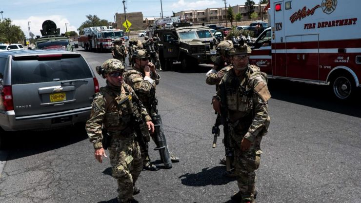 Reports of multiple fatalities following shooting incident in shopping mall in Texas
