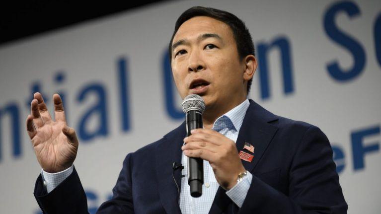 WATCH: Presidential candidate breaks down in tears talking about gun crime