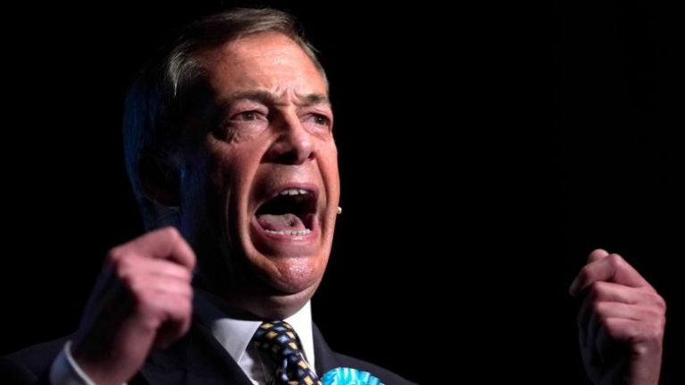 Nigel Farage launches scathing attack on the Royal Family during speech