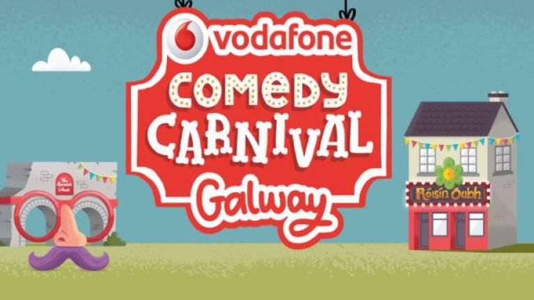 The line-up for the Vodafone Comedy Carnival in Galway is massively impressive