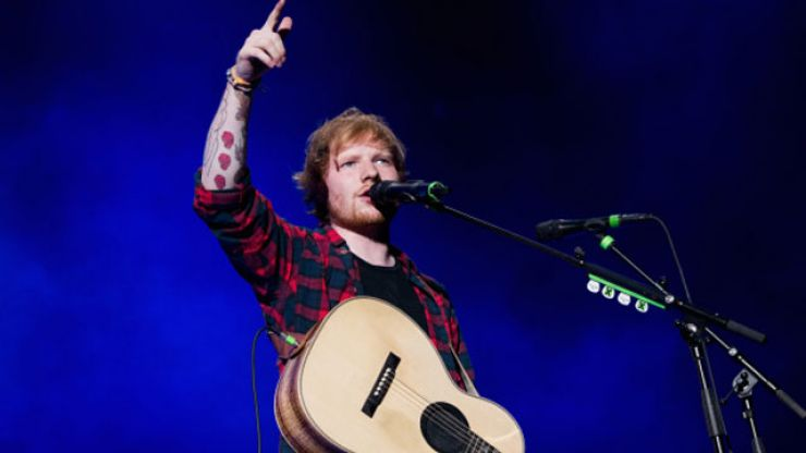 Ed Sheeran crowned as the UK's artist of the decade