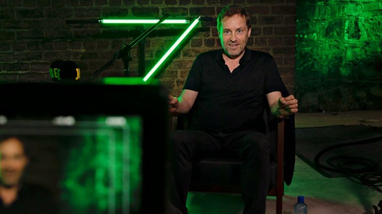WATCH: Ardal O'Hanlon discusses leaving Ireland vs Holland to sing 'My Lovely Horse' at Slane