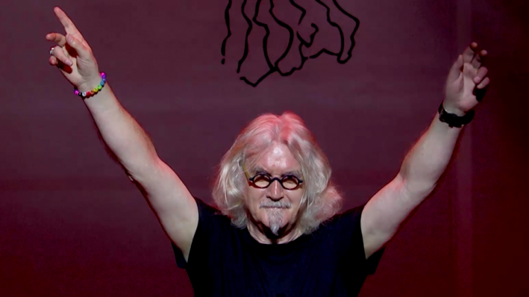 Billy Connolly's last ever stand-up tour will be shown in Irish cinemas and it looks gas