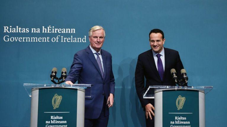 EU Chief Negotiator states that the Irish backstop won't be changed
