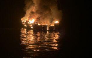 25 bodies found following boat fire in California