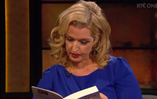 WATCH: Vicky Phelan reads moving paragraph from her new book on Late Late Show