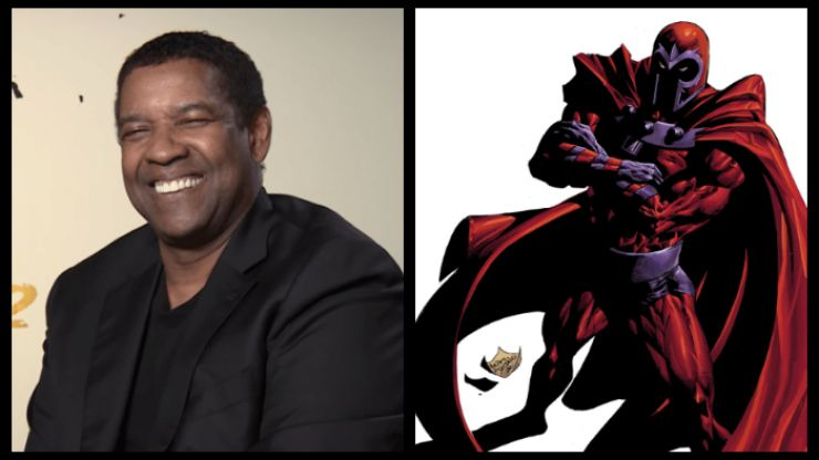 Denzel Washington is a perfect fit to play the new Magneto