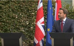 Boris Johnson jeered as he abruptly skips press conference with Luxembourg PM