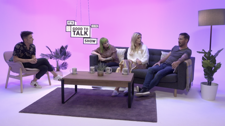 It's Good to Talk Show is Ireland's first online chat show about youth mental health