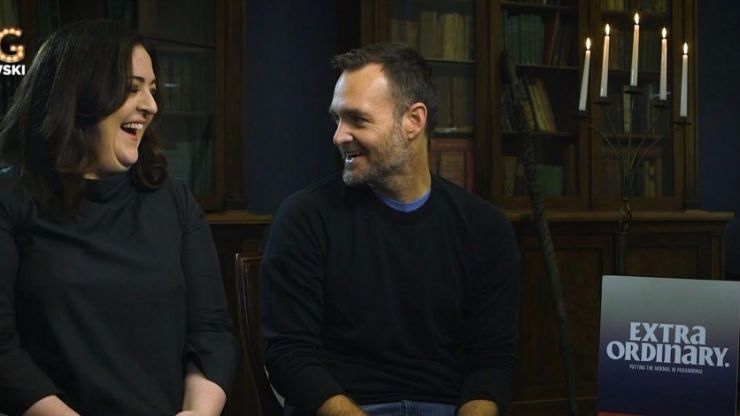 Maeve Higgins and Will Forte chat about jokes, ghosts and their new Irish movie Extra Ordinary