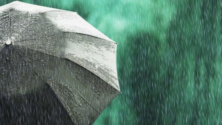 Met Éireann has issued a weather warning for four counties