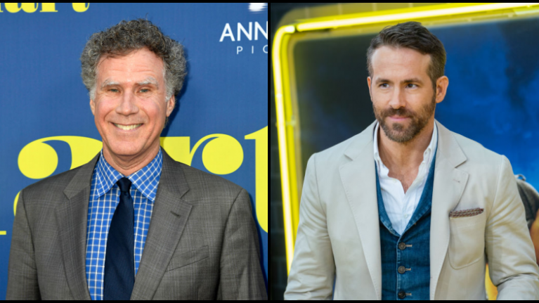 A Christmas Star.Ryan Reynolds And Will Ferrell To Star In A Christmas Movie