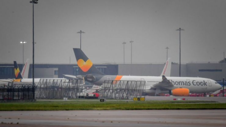 An estimated 600,000 tourists left stranded as Thomas Cook ceases trading with immediate effect