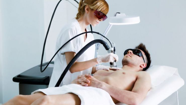 Laser hair removal for men: it's no big deal