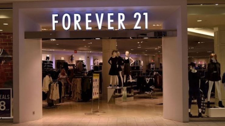 Forever 21 to file for bankruptcy and set to close 350 stores worldwide