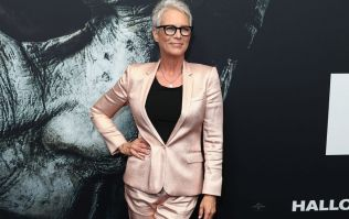 Jamie Lee Curtis is not pleased with one person's antics at the Golden Globes