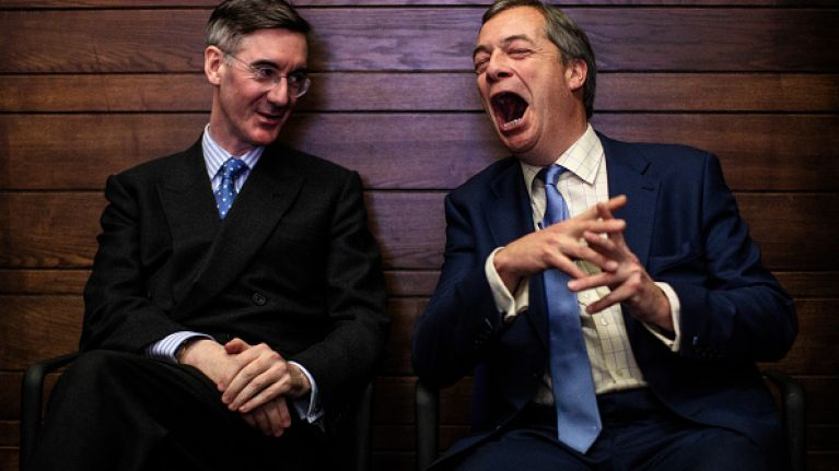 """Jacob Rees-Mogg says Irish government will be the """"main culprit"""" of a no-deal Brexit"""