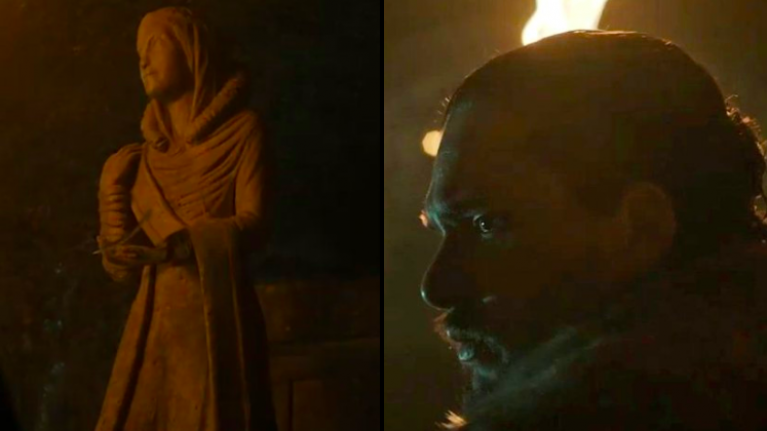 WATCH: The feather in the new Game Of Thrones teaser has implications for Jon Snow