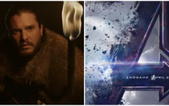 There are only 12 days between the release of Avengers: Endgame and Game of Thrones Season 8