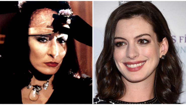 Anne Hathaway has been cast as the Grand High Witch in the remake of The Witches