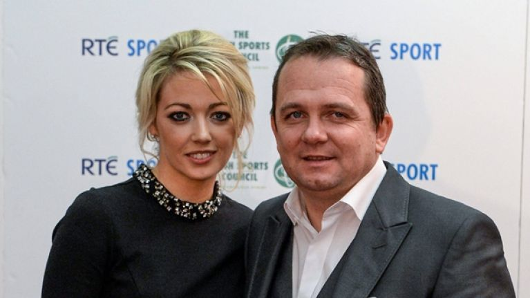 """We've had our good times, our bad times."" Davy Fitzgerald on Sharon O'Loughlin, his partner of 13 years"