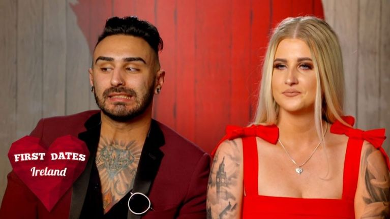 WATCH: First Dates Ireland featured one of the most awkward endings to a date ever