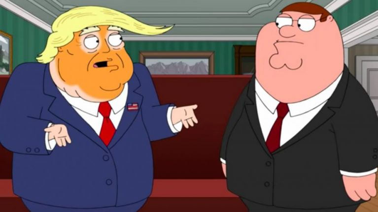 WATCH: Family Guy release first extremely uncomfortable clip from upcoming Trump episode